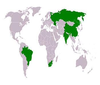 Bricsmap
